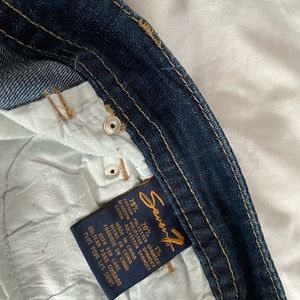 Seven7 Jeans cropped mid rise size 31